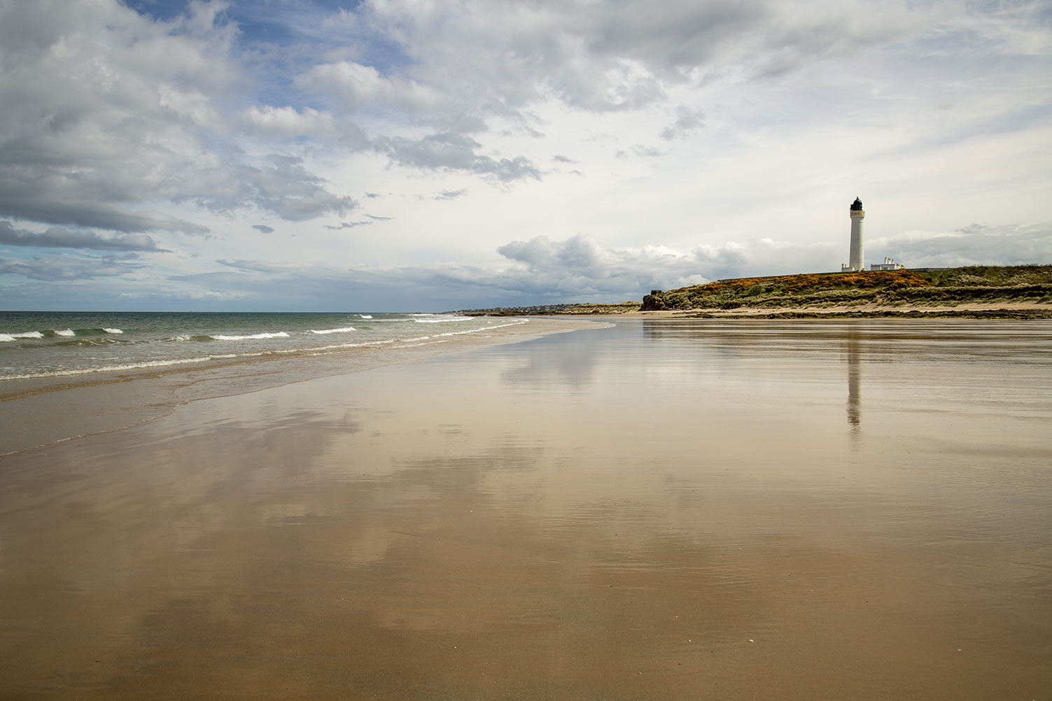 Lossiemouth Beach and Lighthouse